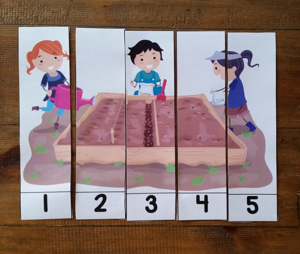 Number picture puzzle