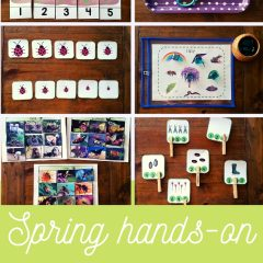 Spring Hands-on Activities for Preschool Children