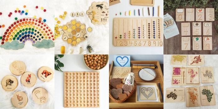 Authentic Handmade Materials for Your Dream Montessori Classroom