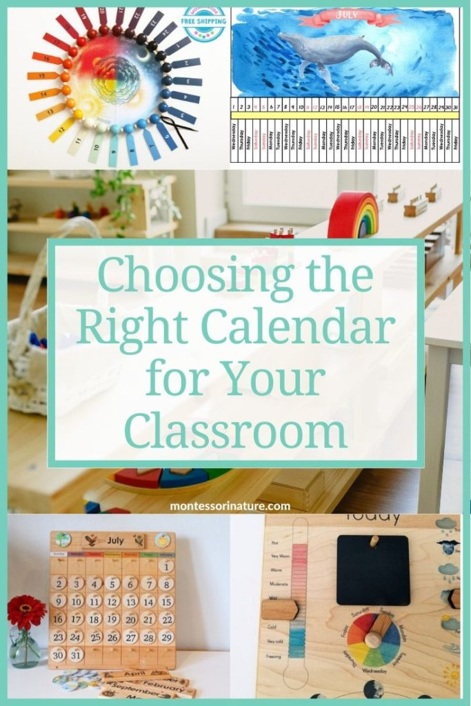 Pin the Choosing the Right Calendar for Your Classroom post