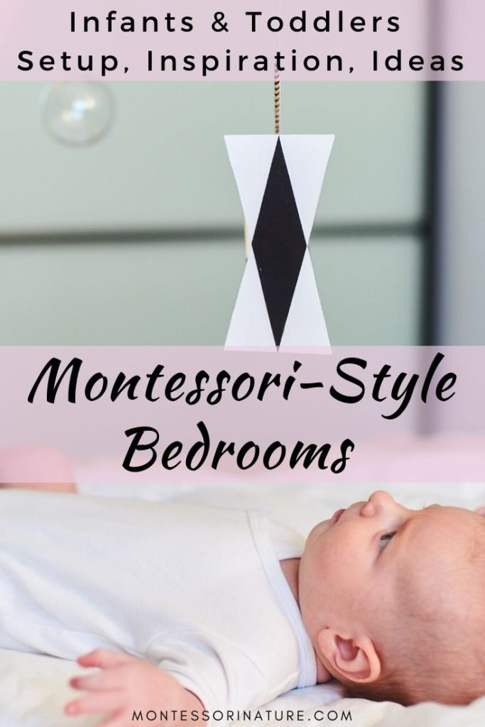Pin Montessori-Style Bedrooms for Infants & Toddlers – Setup, Inspiration, Ideas post
