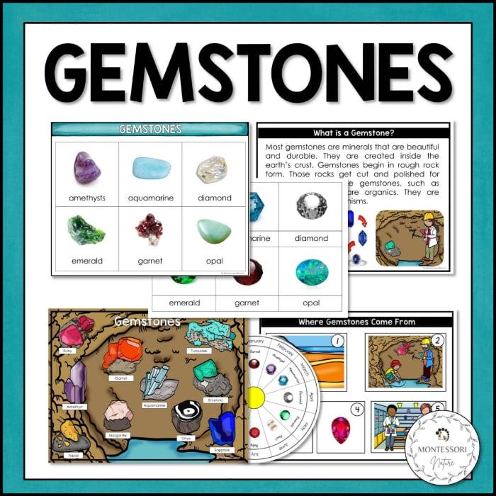 Buy gemstones printables