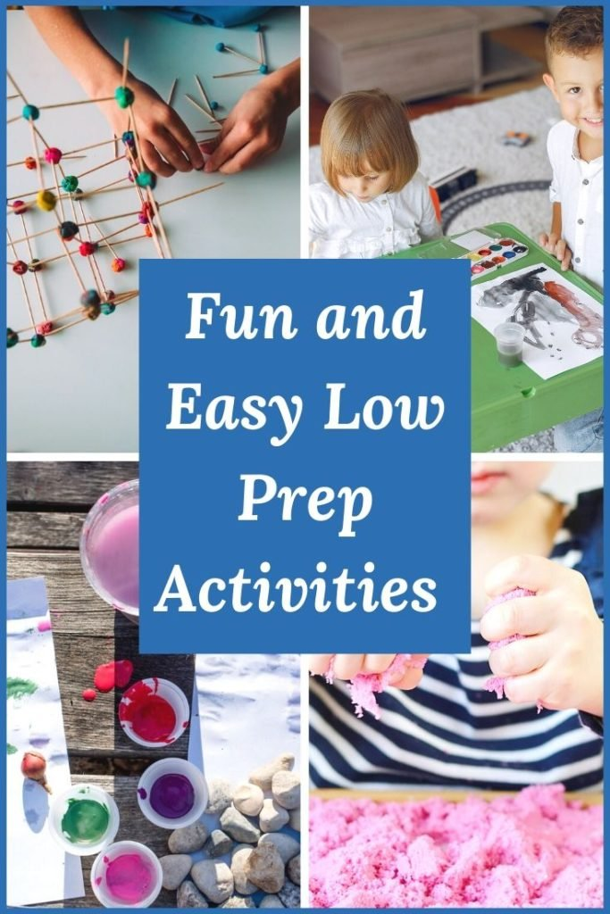 Pin Fun and Easy Low Prep Activities for Children