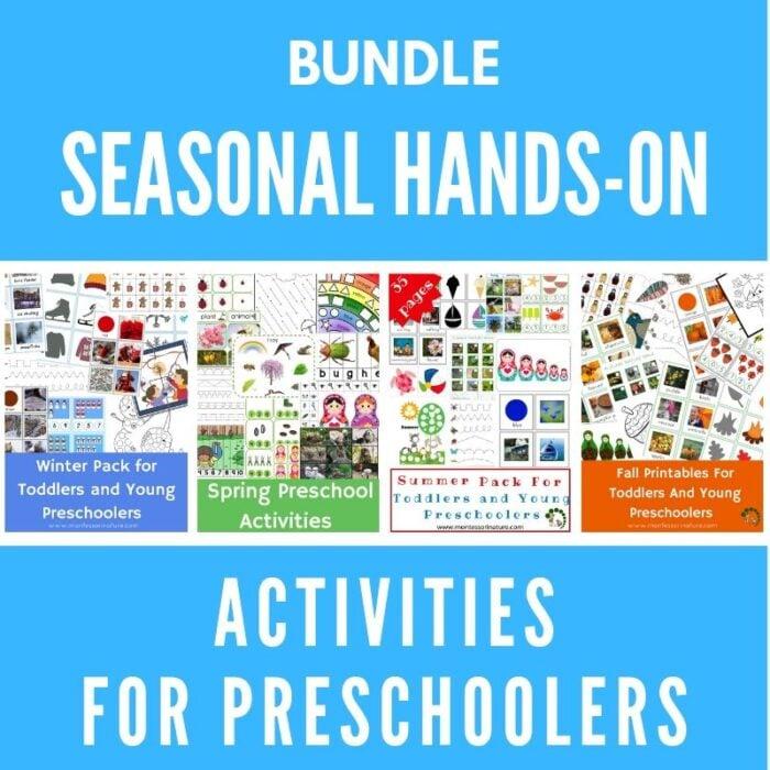 Purchase seasonal activities for preschool children