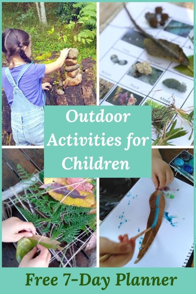 Pin post with free outdoor activity planner