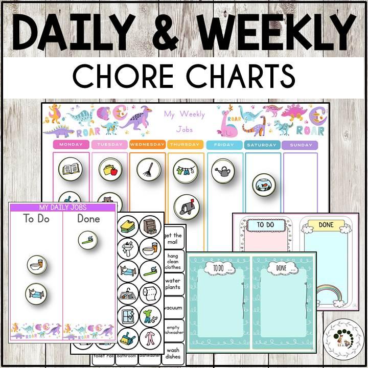 buy daily chore charts