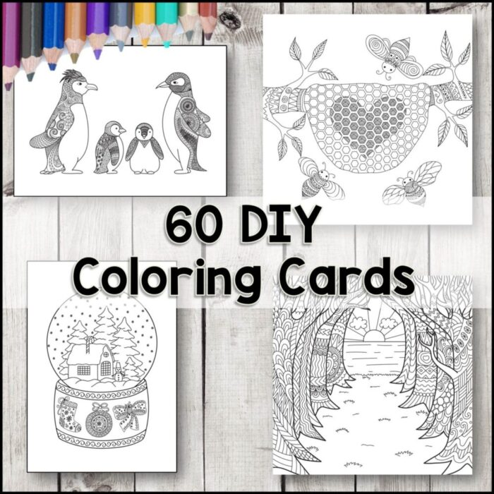 Buy coloring cards