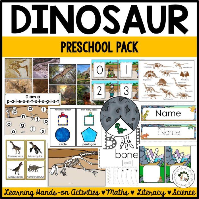 Buy Dinosaur Preschool Pack