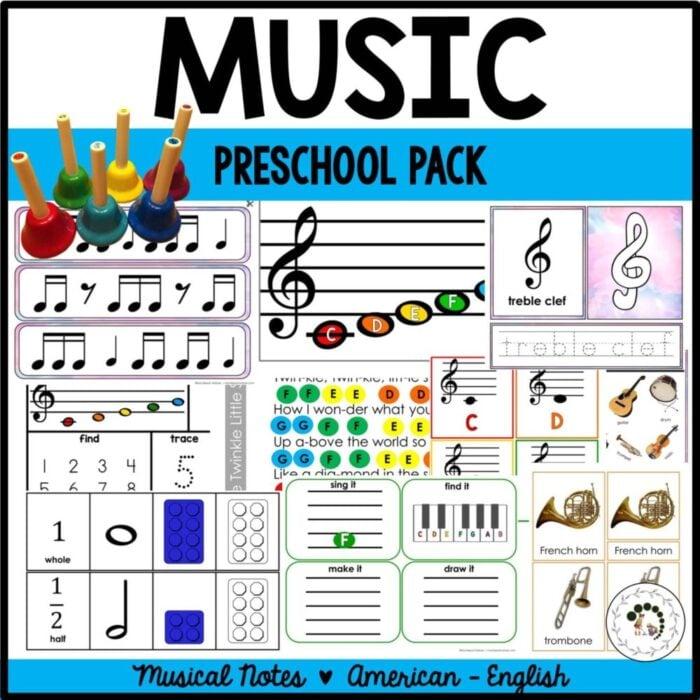 buy music preschool pack