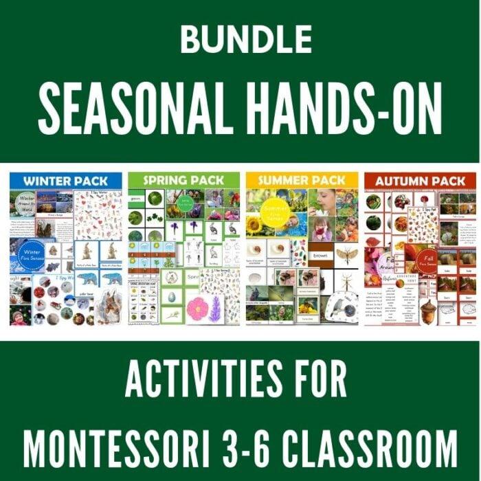 buy seasonal printables bundle