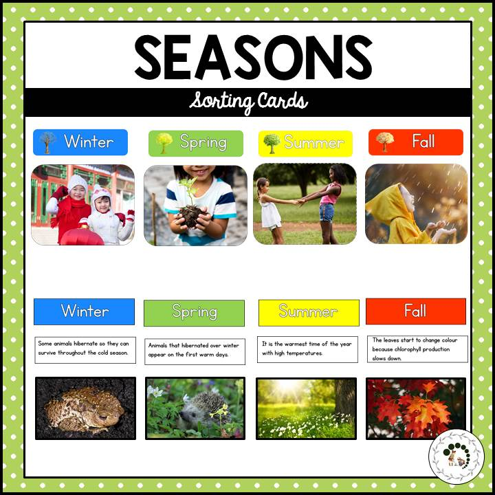 Buy seasons printable