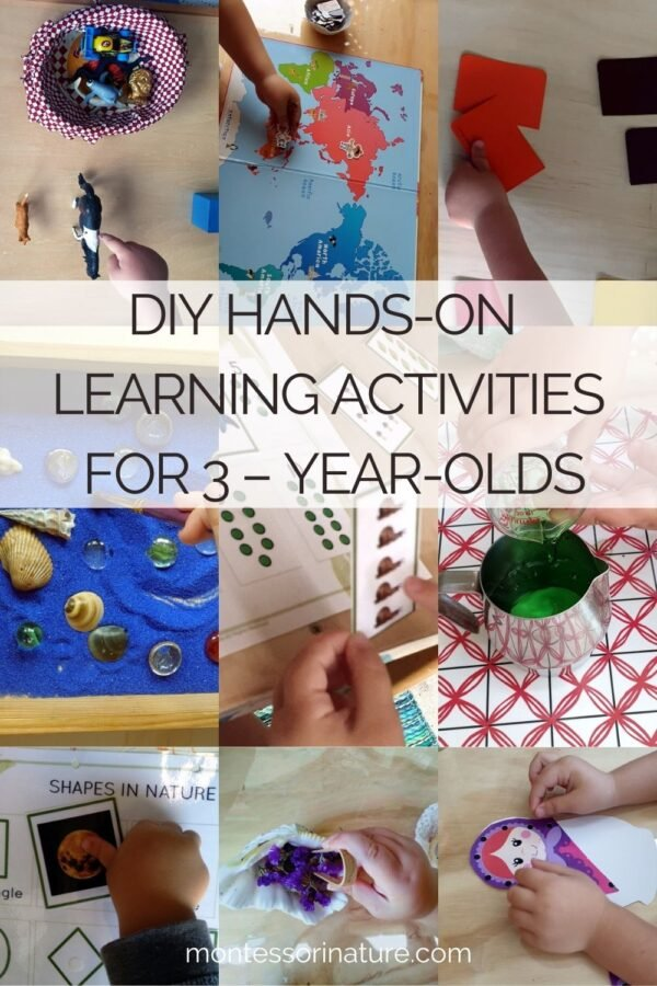 DIY Learning Hands-On Activities for 3-Year-Olds