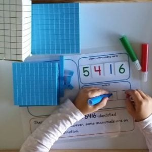Buy place value cards