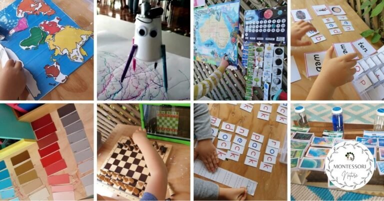 Hands-on Learning Activities Montessori Inspired