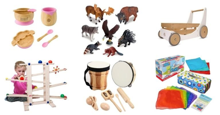 Gift Guide for 1-Year-Olds - Eco Friendly and Captivating Toys and Materials Your Kid Will Love