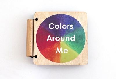 Wooden Color Book